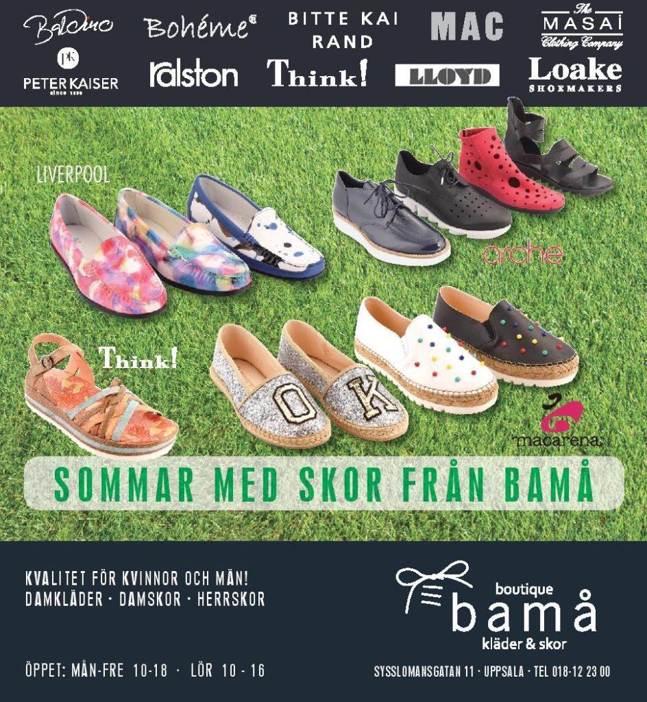 Bamå skor Uppsala